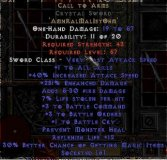 West NON Ladder Call to Arms Crystal Sword - 1-3 BO
