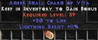 West Ladder 20 Life / 10 Light Resist Small Charm