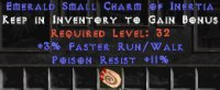 West Ladder 3% FRW / 11 Poison Res Small Charm