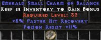 Europe NON Ladder 5% FHR / 11 Poison Res Small Charm