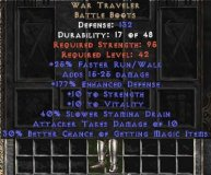 East NON Ladder War Traveler 30-39% MF