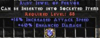 West NON Ladder 40% ED / 15% IAS Jewel