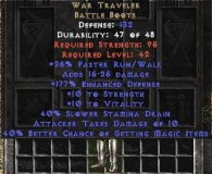 East NON Ladder War Traveler 40-44% MF