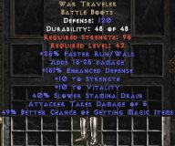 East NON Ladder War Traveler 45-49% MF