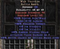 East NON Ladder War Traveler 50% MF