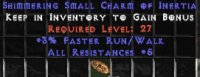 West Ladder 3% FRW / 5 All Res Small Charm