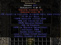 East NON Ladder Andariel's Visage (Ethereal) 10% LL