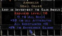 Europe NON Ladder 20 Attributes / 10-14 All Res / 5-10 Exp Annihilus
