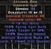 East Ladder Arachnid Mesh - 120% ED - Perfect