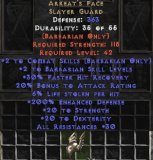 East NON Ladder Arreat's Face 190-199% ED & 3-5% LL