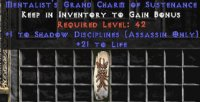 West Ladder Assassin Shadow Disciplines 20-29 Life GC