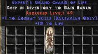 West Ladder Barbarian Combat 10-19 Life GC