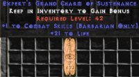 West Ladder Barbarian Combat 20-29 Life GC