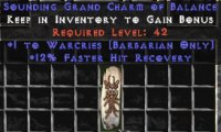 West Ladder Barbarian Masteries 12% FHR GC