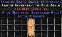 West Ladder Barbarian Masteries 4-5 Str GC