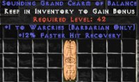 West Ladder Barbarian Warcries 12% FHR GC