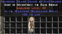 West Ladder Barbarian Warcries 30-34 Life GC
