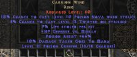 West NON Ladder Carrion Wind 9% LL