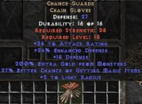 West Ladder Chance Guards 25-34% Magic Find