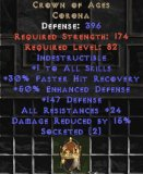 East NON Ladder Crown of Ages 2 Soc & 15% DR & 25-29 All Res
