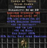 East NON Ladder Crown of Thieves