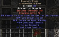 West Ladder Dracul's Grasp 10% Life Leech