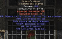 West Ladder Dracul's Grasp - 10% LL & 15 Str