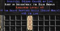 Europe Ladder Druid Shape Shifting 10-19 Life GC