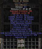 East NON Ladder Chains of Honor 0-14 ed Archon Plate