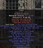 East Ladder Doom Berserker Axe - 330-350% ED