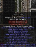 Europe NON Ladder Insight Cryptic Axe - Ethereal - 17/275/6/250 - Perfect