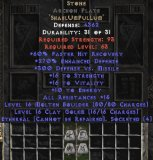 West Ladder Stone Archon Plate (Ethereal) - 250-289% ED