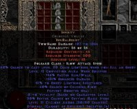 West NON Ladder Infinity Colossus Voulge (Ethereal) - 340% ED & -55% ELR - Perfect