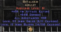 East NON Ladder Metalgrid 30-34 All Res
