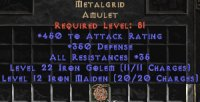 East NON Ladder Metalgrid 350 Defence