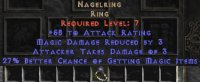 West NON Ladder Nagel Ring 25-29% MF