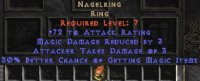 West NON Ladder Nagel Ring 30% MF
