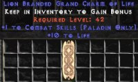 East Ladder Paladin Combat 10-19 Life GC