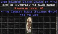 East NON Ladder 9x Paladin Combat 45 Life GC