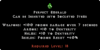 West Ladder Perfect Emerald