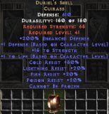 Europe NON Ladder Duriel's Shell - 200% ED - Perfect