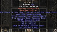 East Ladder Thundergod's Vigor - 200% ED - Perfect