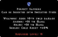 West Ladder Perfect Sapphire