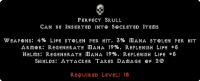 West Ladder Perfect Skull