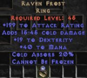 West NON Ladder Raven Frost