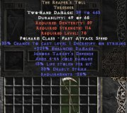 West NON Ladder The Reaper's Toll 220-240% ED