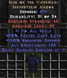 West NON Ladder Skin of the Vipermagi - 35 All Res & 13 MDR - Perfect