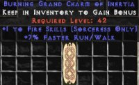 West Ladder Sorceress Fire 7% FRW GC