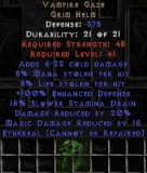 East NON Ladder Vampire Gaze (Ethereal) - 8/8/20/15 - Perfect
