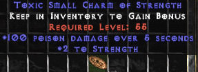 <center><b>East Ladder</b><br>100 Poison Damage / 2 Str Small Charm